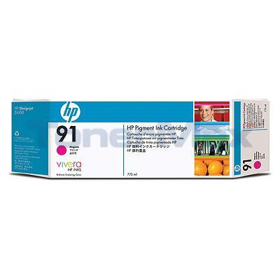 HP NO 91 INK MAGENTA 775-ML